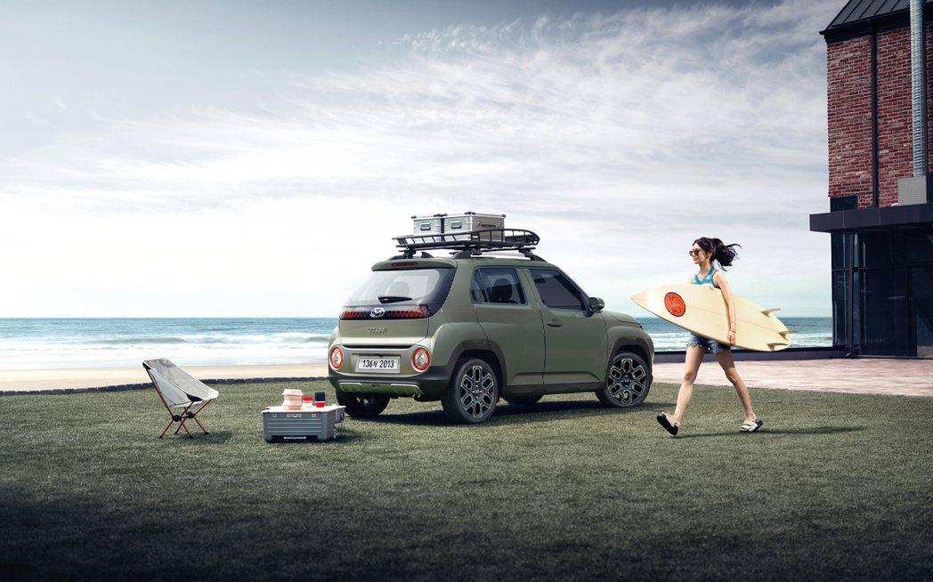 全新Hyundai Casper是目前品牌價格最親民的跨界迷你休旅 (原廠真的叫...
