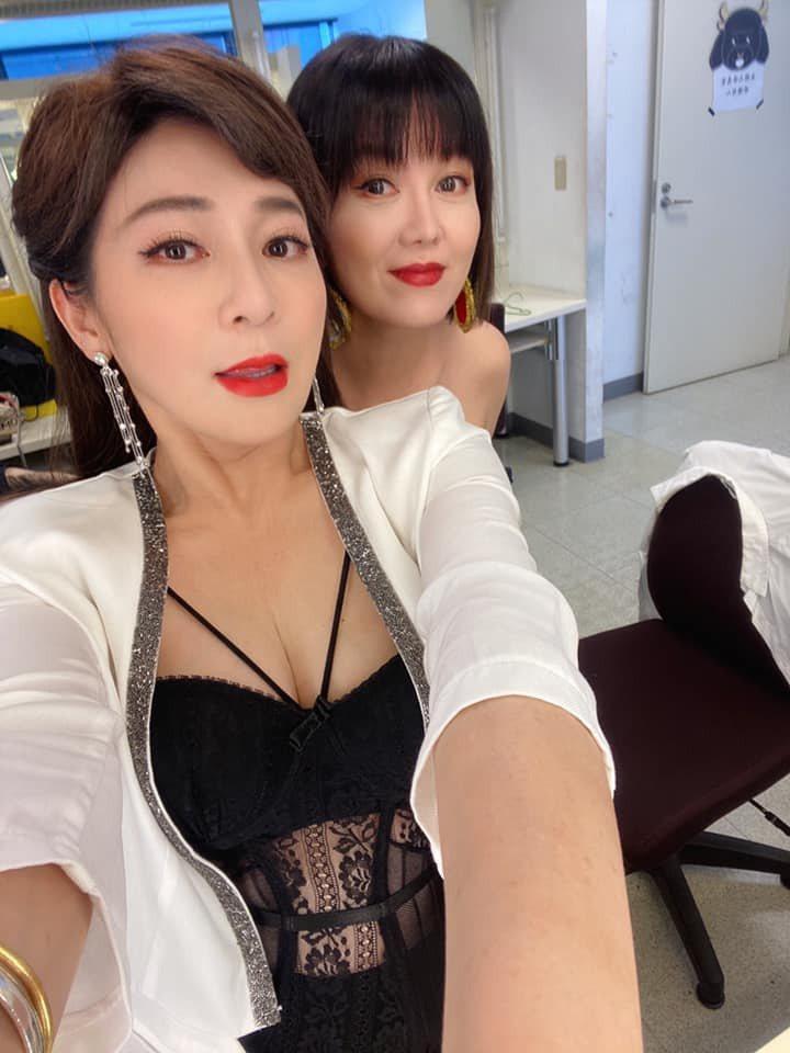 王彩樺與苗可麗。圖/擷自臉書