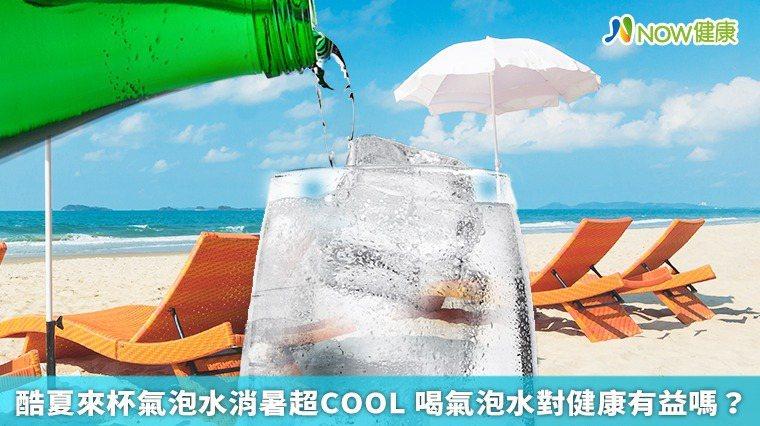 ▲沒有調味的氣泡水就是添加二氧化碳的開水,因為有了氣泡,增加口感,感覺起來比水好...