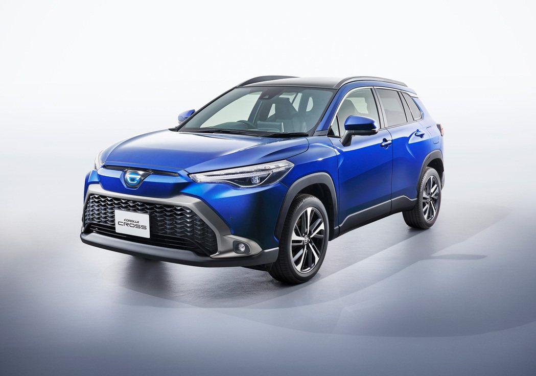 日規Toyota Corolla Cross。 摘自Toyota