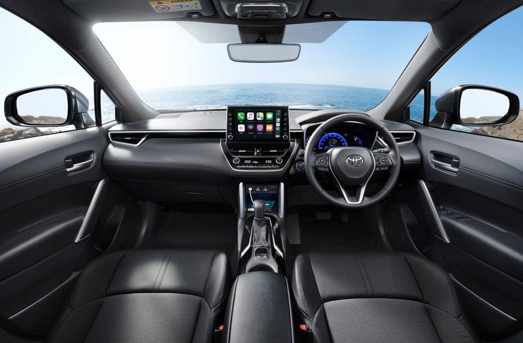 日規Corolla Cross在內裝上與海外版幾乎相同。 摘自Toyota