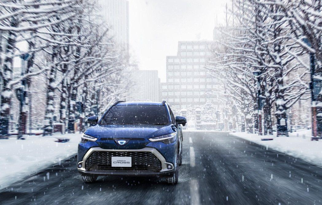 Hybrid車型擁有E-Four電子四輪傳動車型可選擇。 摘自Toyota