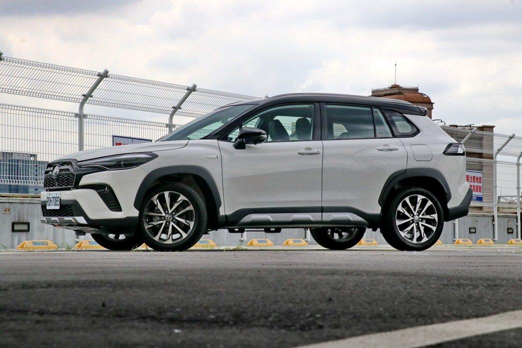 全球首發的Corolla Cross GR Sport。 記者陳威任/攝影