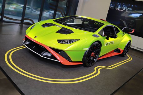 源自賽道技術的傳奇!Lamborghini Huracan STO登台發表