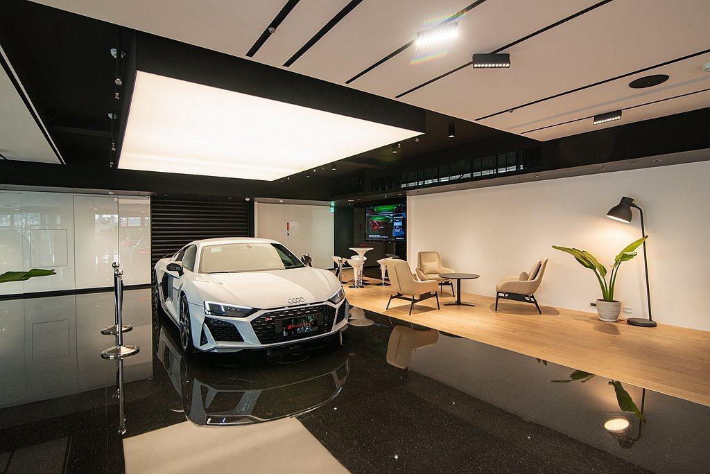 Audi濱江展示暨服務中心導入智慧服務管理系統,完整、高效率監控服務廠團隊為顧客...