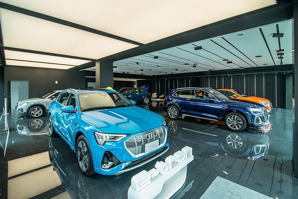 Audi濱江展示暨服務中心於規畫時便將「Audi 極速充電站」的建置列為重點項目...