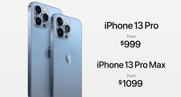 iPhone 13 Pro 系列。圖擷自蘋果官網
