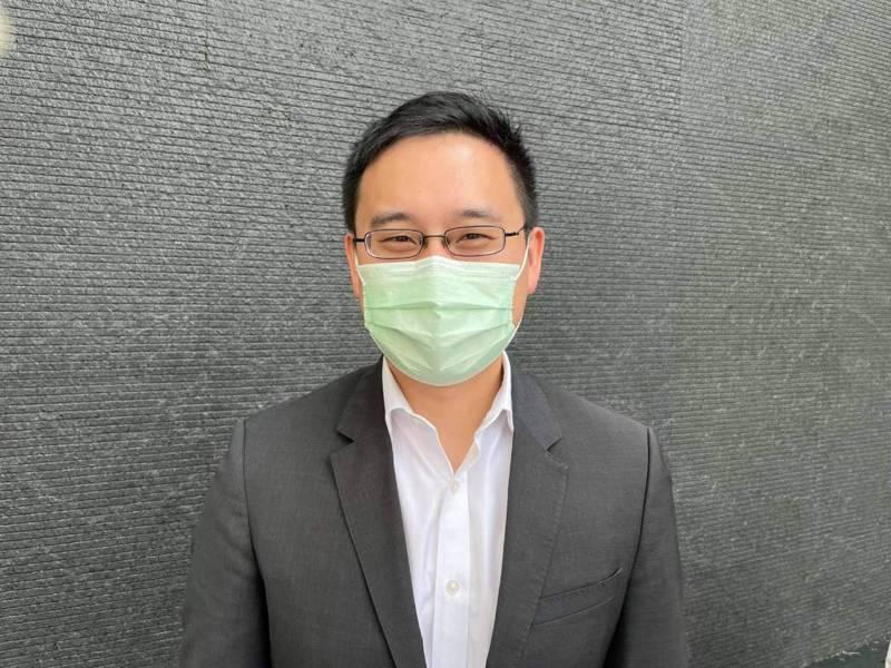 駐美代表處前政治組組長趙怡翔。記者林政忠/拍攝