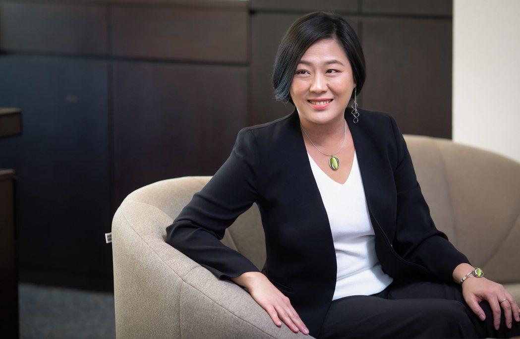 悠遊卡公司董事長陳亭如。公司提供