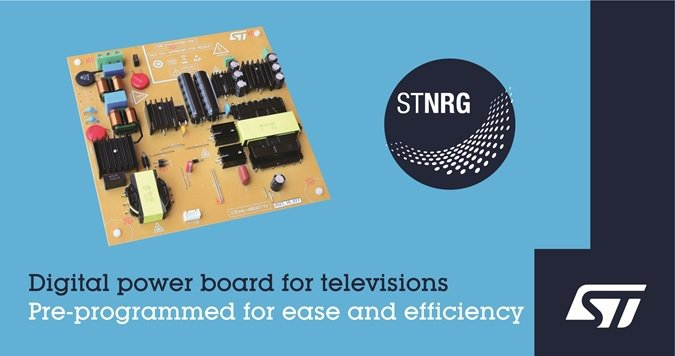 意法半導體 LED電視200W數位電源解決方案,滿足嚴格的節能設計標準。 意法半...