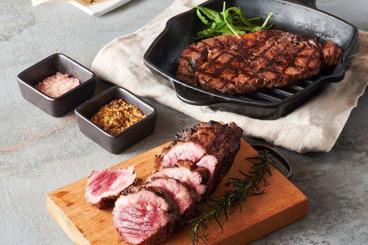 爐火炭烤牛排,挑戰義式餐廳CP值最高。 圖:三澧企業股份有限公司/提供
