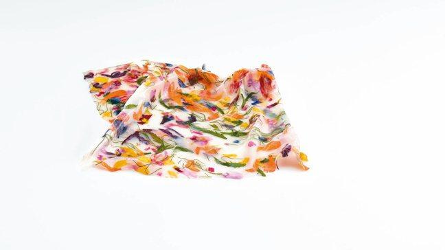 西班牙聖塞巴斯蒂安的米其林二星餐廳Mugaritz的Squid Suspensi...