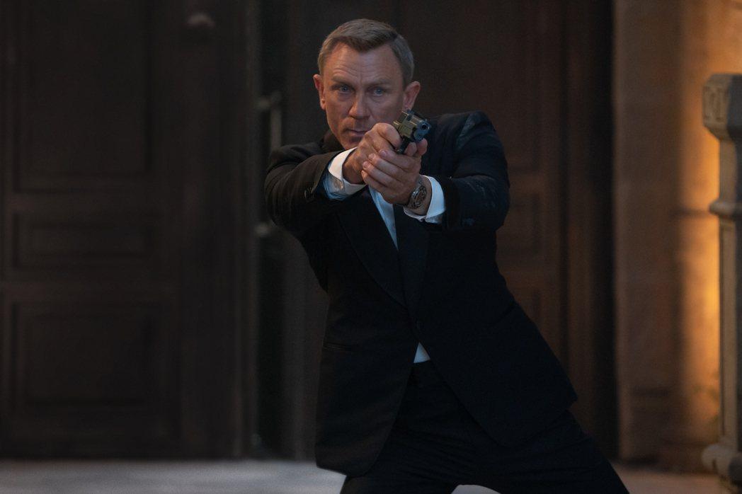「007生死交戰」是丹尼爾克雷格最後一回扮演龐德。圖/UIP提供