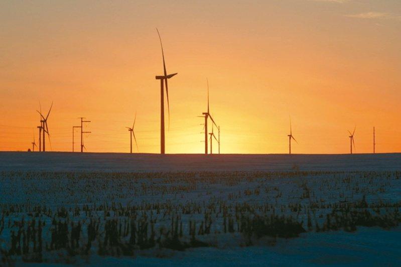 蘇格蘭政府數據顯示,2019年綠電佔比已達到90.1%,去年再進步到97%,已逼近「全綠電」目標。圖/聯合報系資料照片