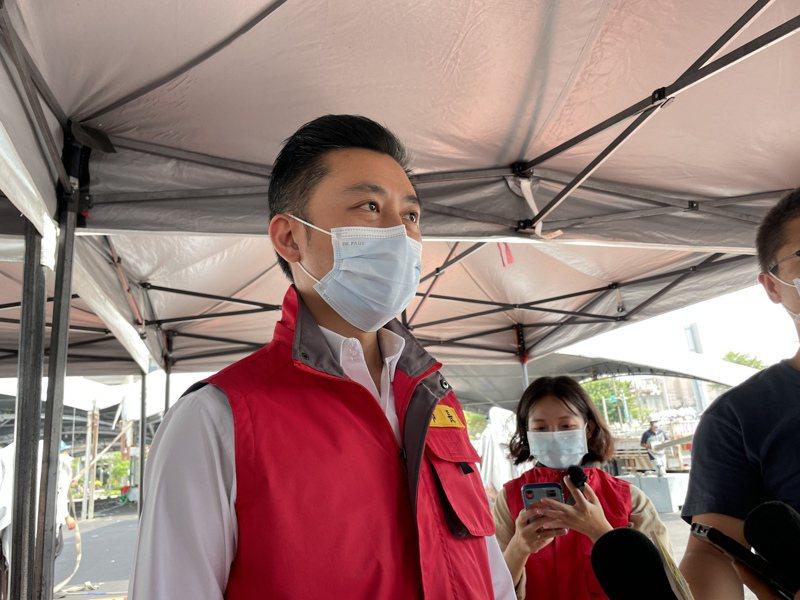 新竹市長林智堅日前拋出新竹縣市合併升格成為政壇話題。記者張裕珍/攝影