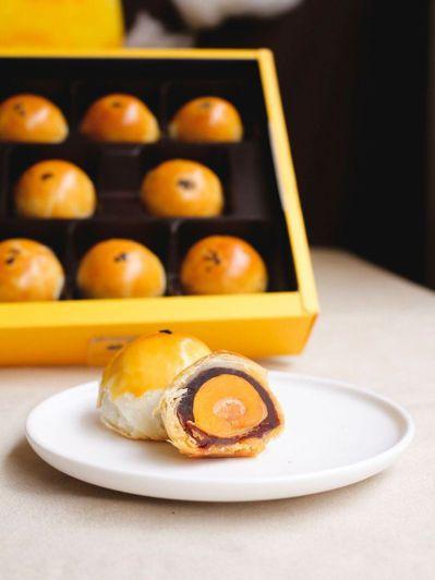 法朋蛋黃酥。圖/取自法朋網站