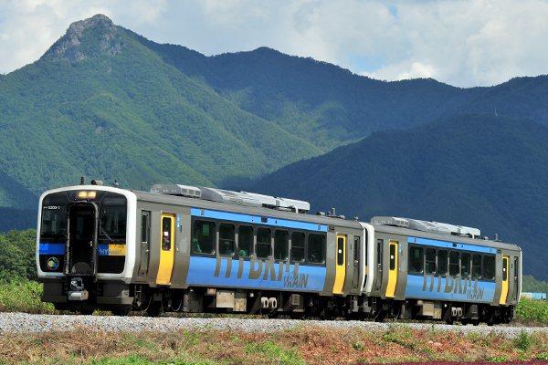 2007年,JR東日本營運的KiHa E200型柴聯車,是世界上第一款投入營運的串聯式混合動力鐵路車輛。圖/取自JR東日本網站