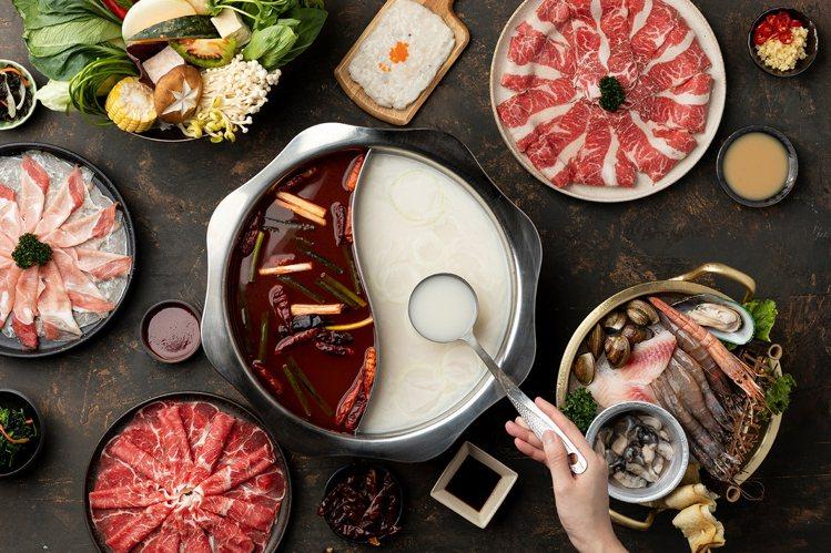 主打韓式鍋物的「釜山宗家」自即日起正式開幕。圖/豆府提供
