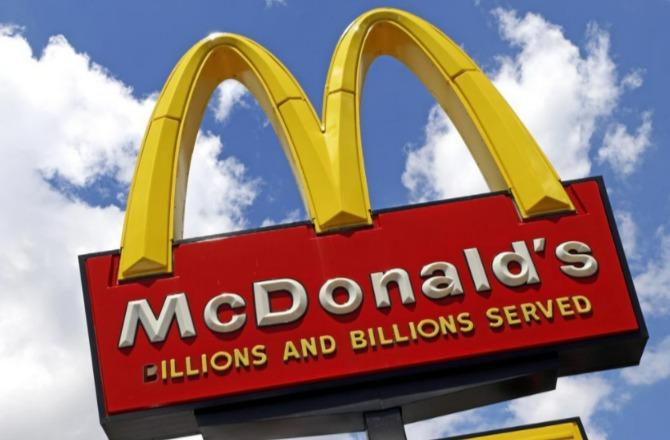 麥當勞是許多人最愛去的速食店。圖/美聯社
