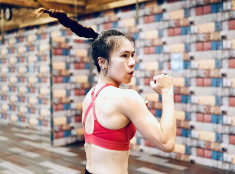 Survine透過運動,找回自在和快樂的能量。圖片由Survine授權「有肌勵」刊登