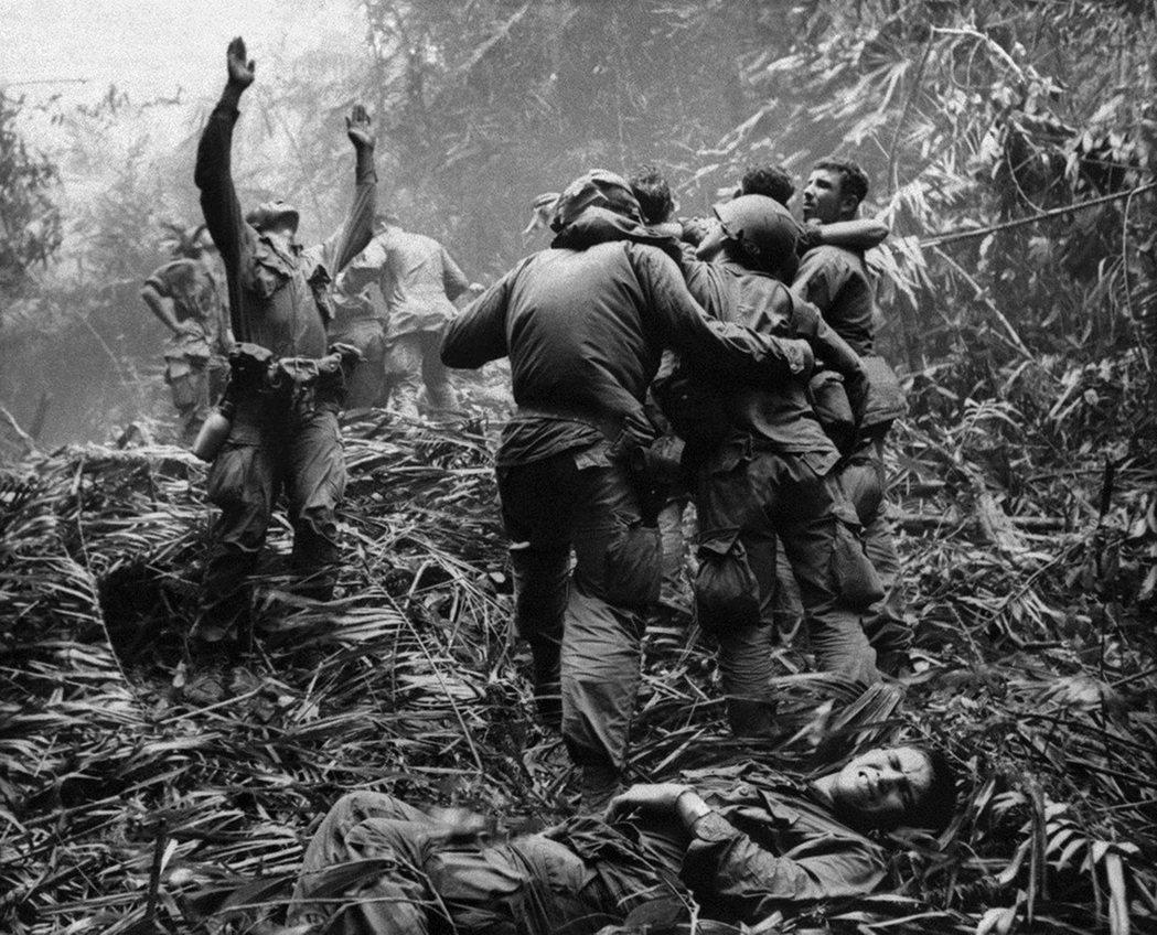 「美國通常被視作歐洲帝國主義列強的同流。」圖為越戰美軍。 圖/美聯社