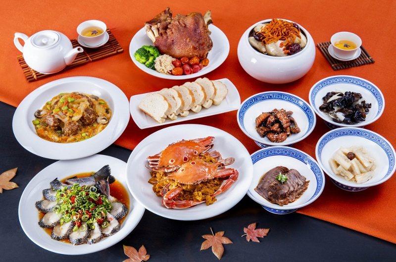 凱達香蟹6人合菜套餐,每套8菜1湯,4,600元。 業者/提供