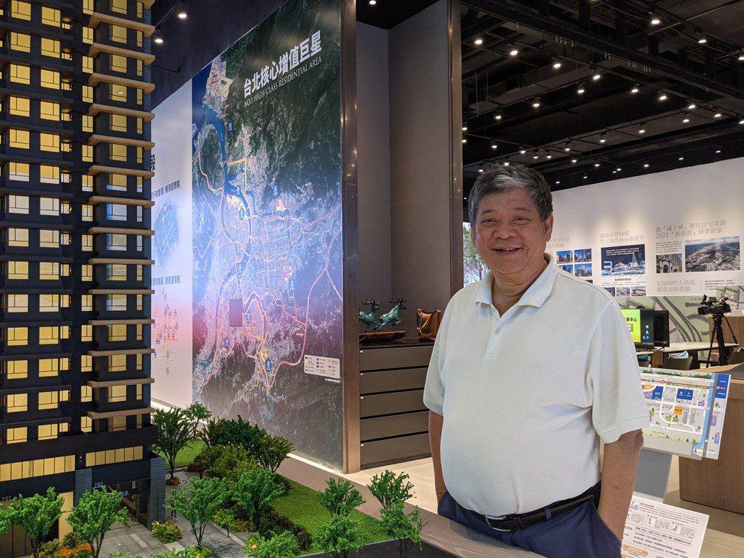 甲山林暨愛山林董事長祝文宇表示,在全台積極推出「親民平價宅」,就是希望年輕人能夠...