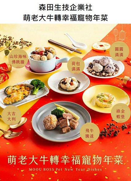 森田生技-萌老大寵物手作鮮食。 工研院/提供