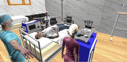 「沉浸式虛擬實境急救照護情境模擬系統(Immersive Virtual Rea...