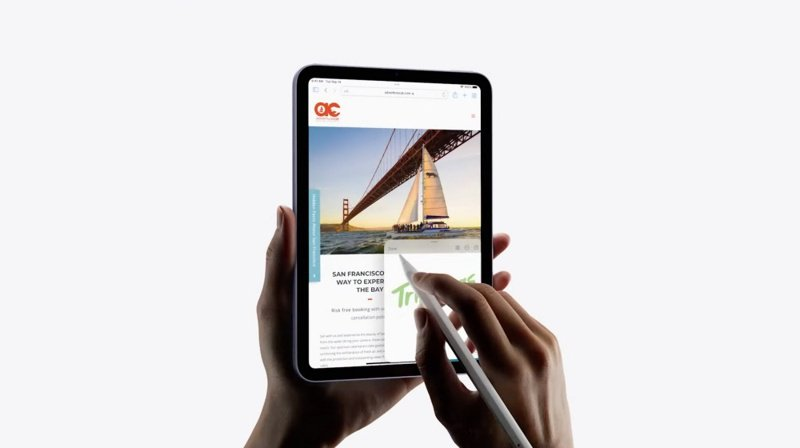 ▲新款iPad mini終於換上與新款iPad Pro相同機身設計