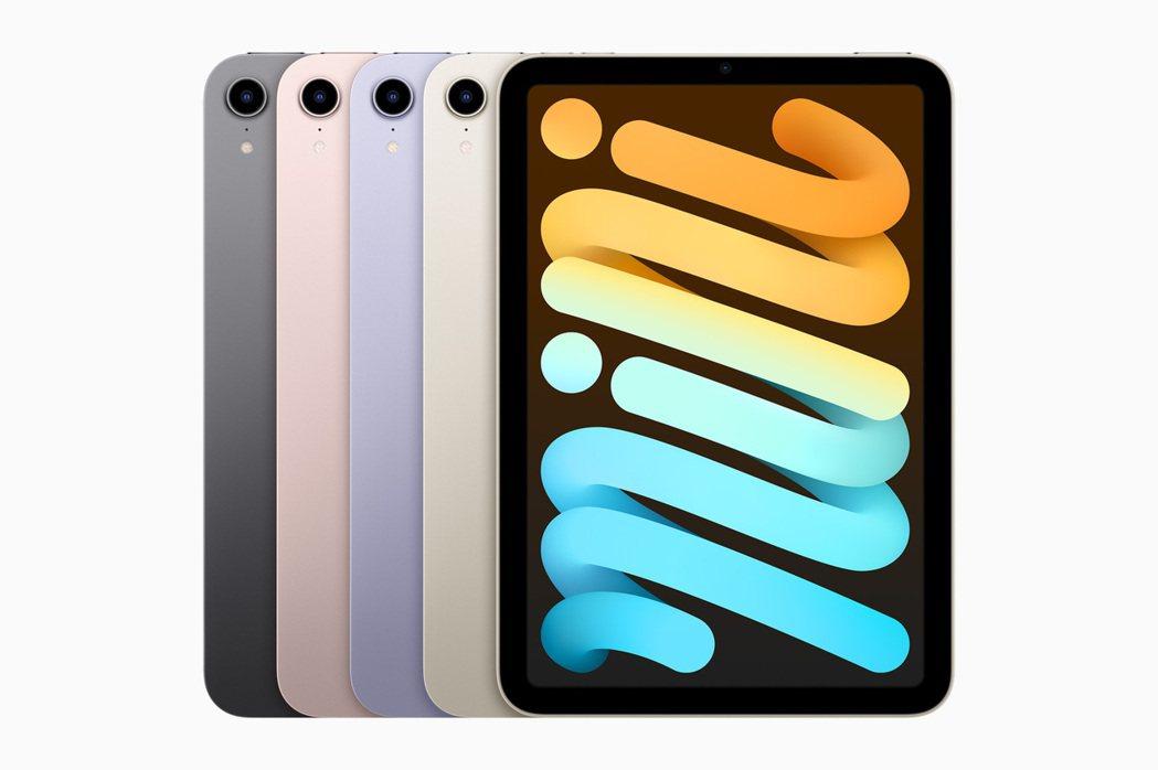 全新的iPad mini有全新的8.3吋廣色域螢幕,並有與iPhone 13同樣...