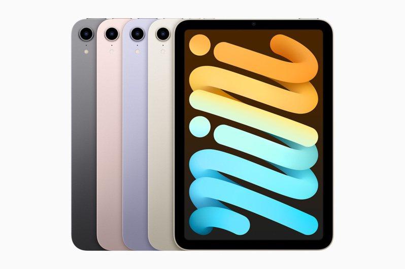 全新的iPad mini有全新的8.3吋廣色域螢幕,並有與iPhone 13同樣的A15仿生晶片。 取自蘋果公司官網