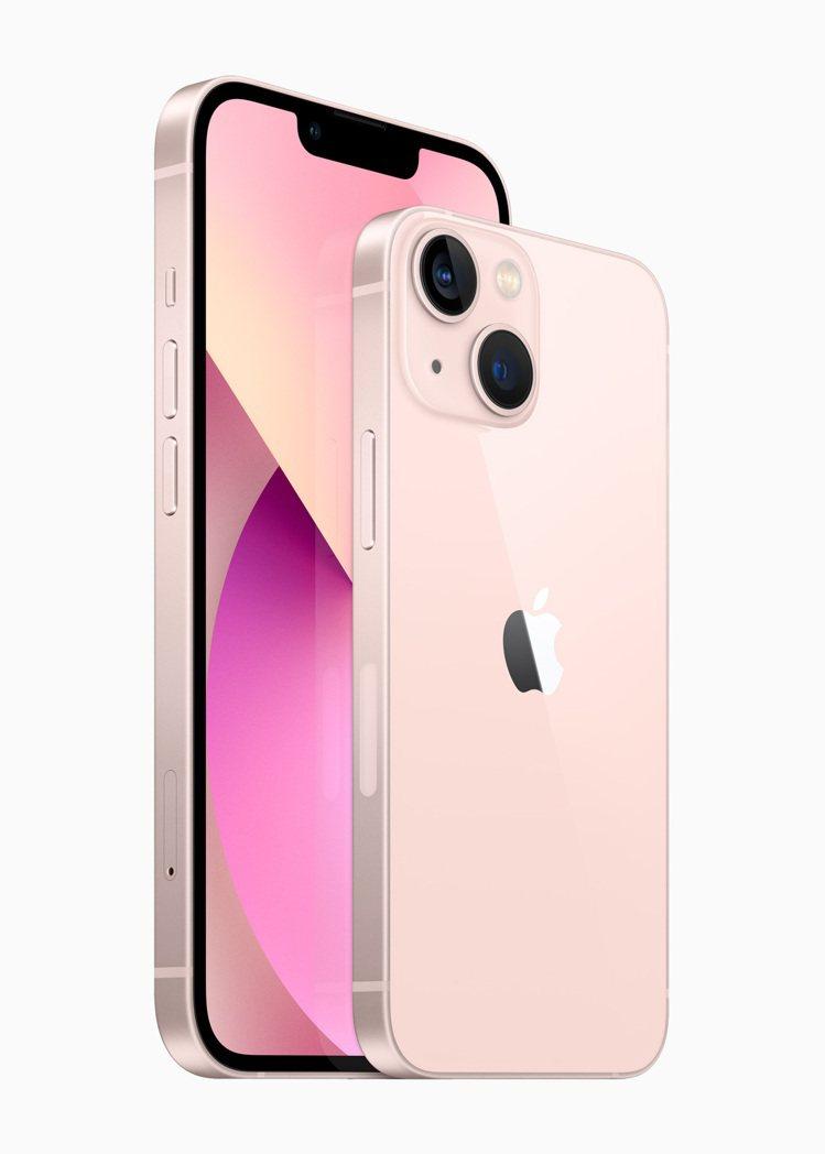 iPhone 13和iPhone 13 mini維持6.1吋與5.4吋合手好拿的...