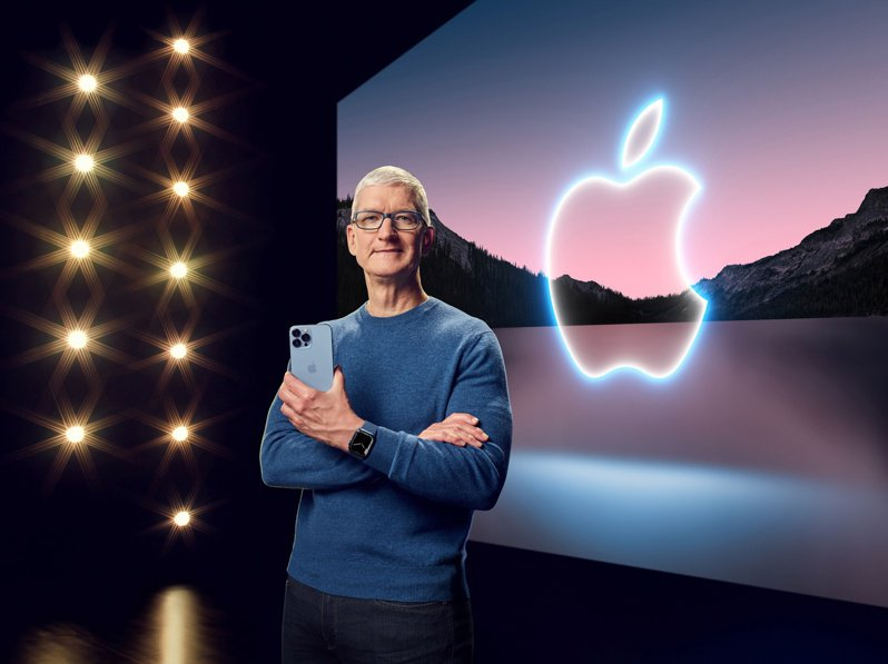 蘋果公司周二發表iPhone 13,股價收黑1%。
