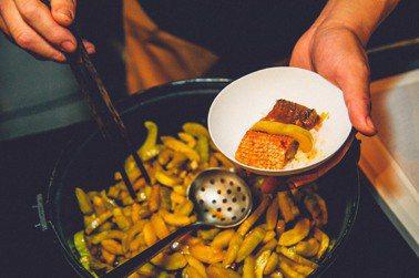 黃金虱目魚肚飯限時在500案內所快閃。圖/豊賀大酒家提供