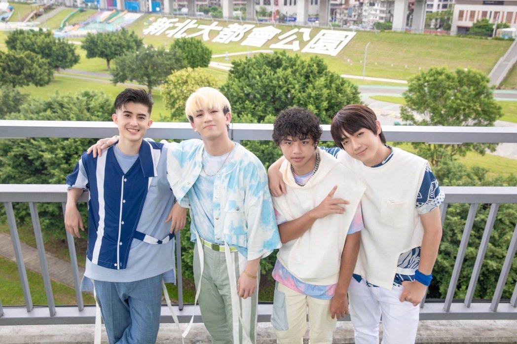 男團「B.T.O.D」推出新歌「愛在新北綠生活」。圖/寬寬整合行銷提供