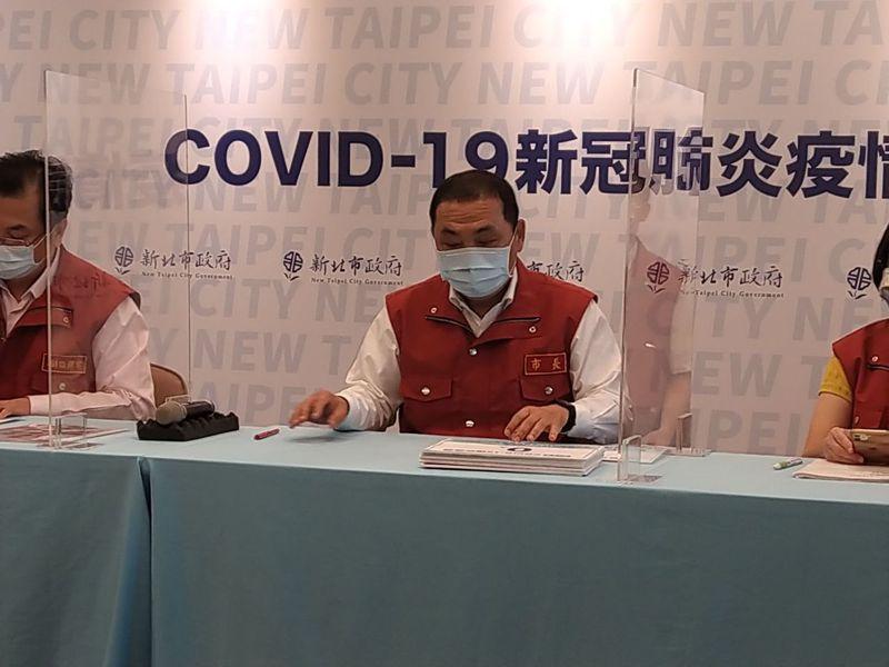 新北市長侯友宜表示,新北仍維持強化2級警戒作為到21日。記者張哲郢/攝影