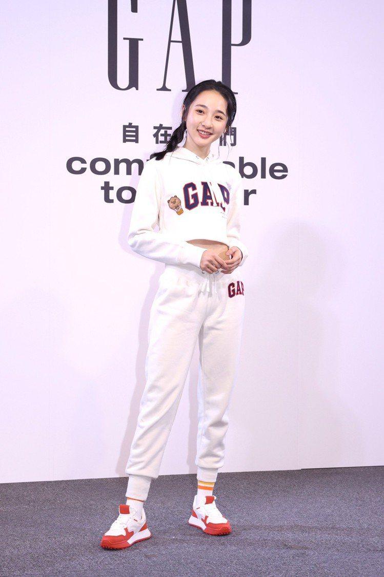 李沐成為Gap成為品牌好友。記者王聰賢/攝影