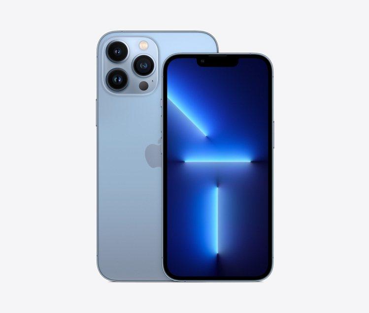 iPhone 13 Pro天峰藍色,蝦皮購物9月17日晚上8點開放搶先預約。圖/...