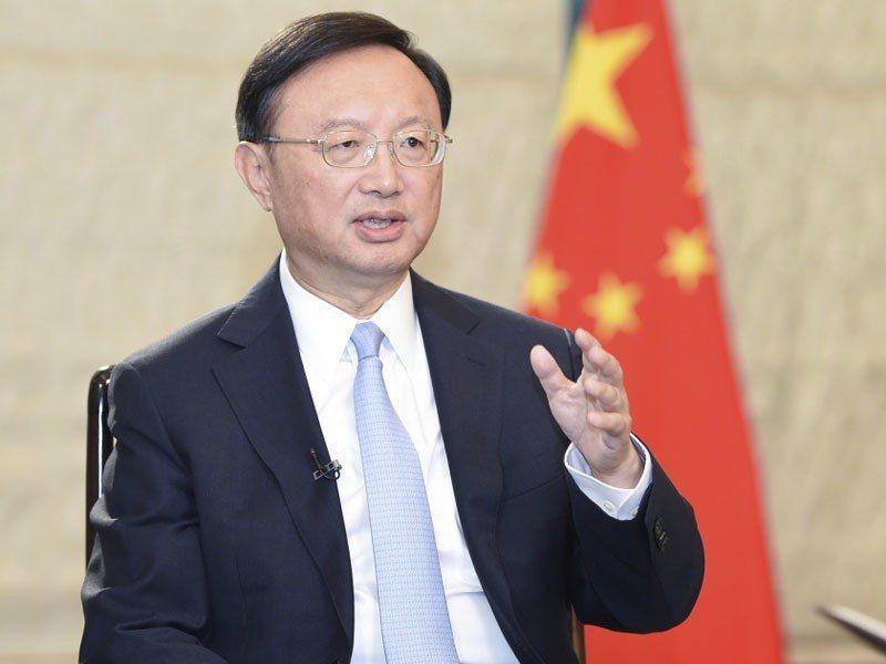 中共中央外事工作委員會辦公室主任楊潔篪。新華社
