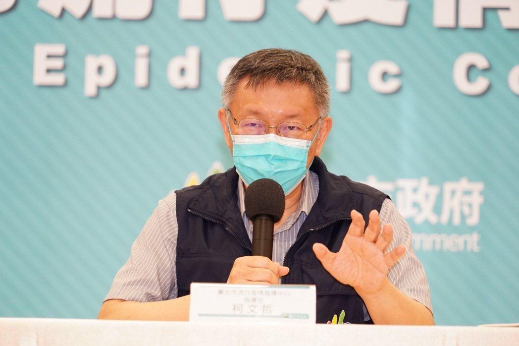台北市長柯文哲今日說,死800多個人跟高端沒有關係,但是跟你陳時中是有關的。  ...