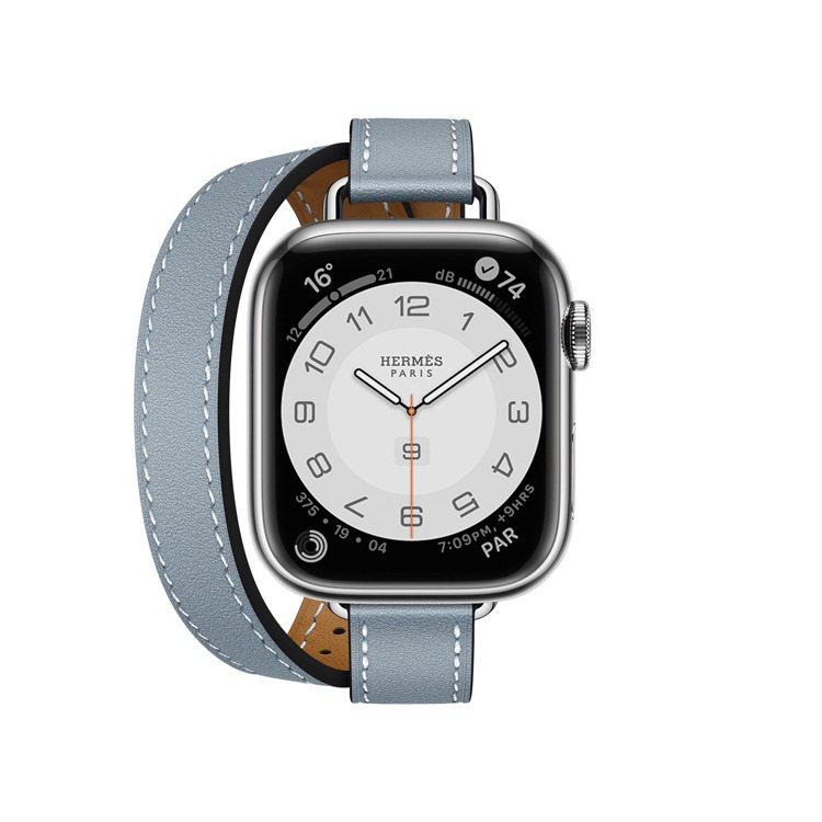 第七代Apple Watch Hermès 41毫米表殼配Attelage系列亞...