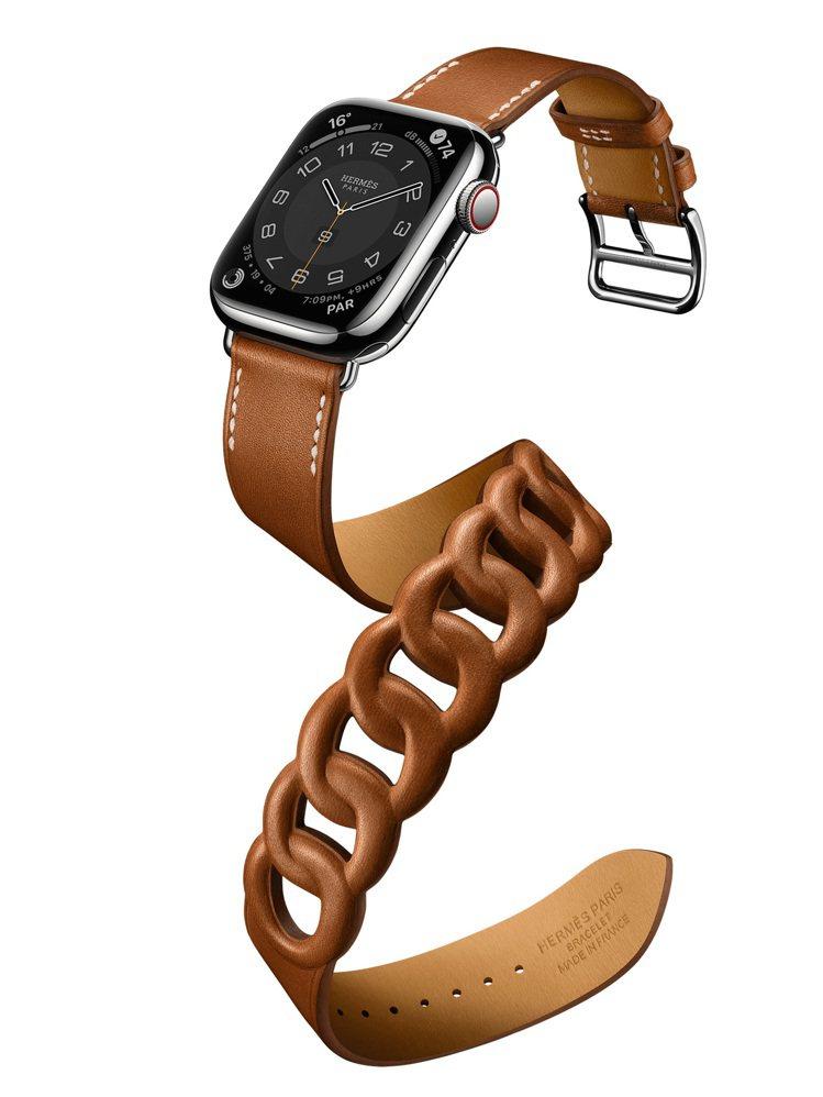 第七代Apple Watch Hermès 41毫米表殼配Gourmette系列...