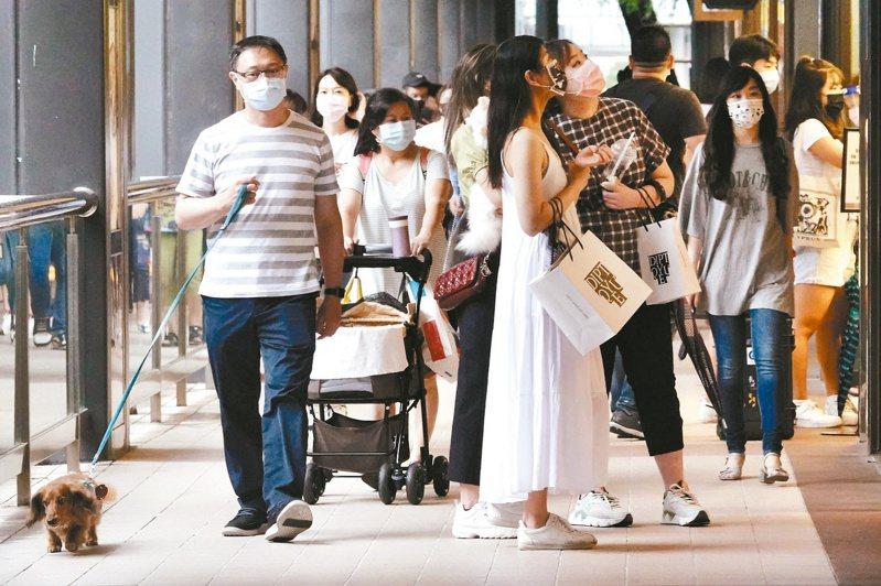 台灣的CPI從四月以來破二後,八月再度第三次破二,但主計總處認定台灣尚無通膨問題。圖/聯合報系資料照片