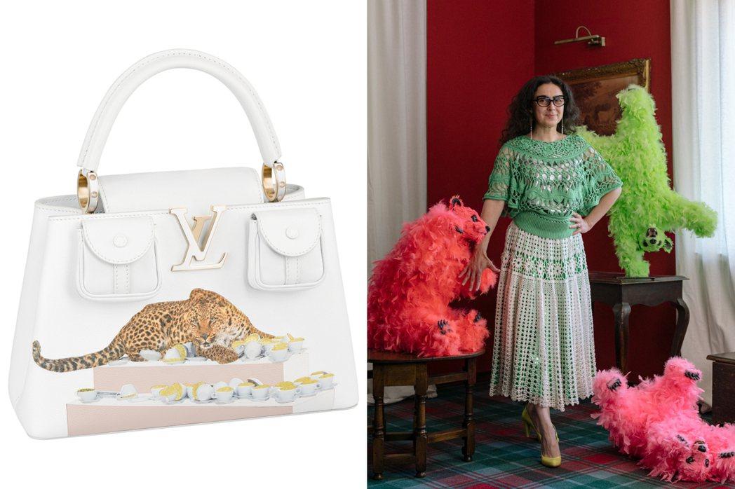 Paola Pivi的設計呈現出華麗感。圖/LV提供