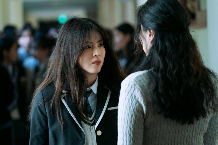 韓韶禧在10月將播映的《My Name》中,最初會以女學生的模樣登場。圖/NET...