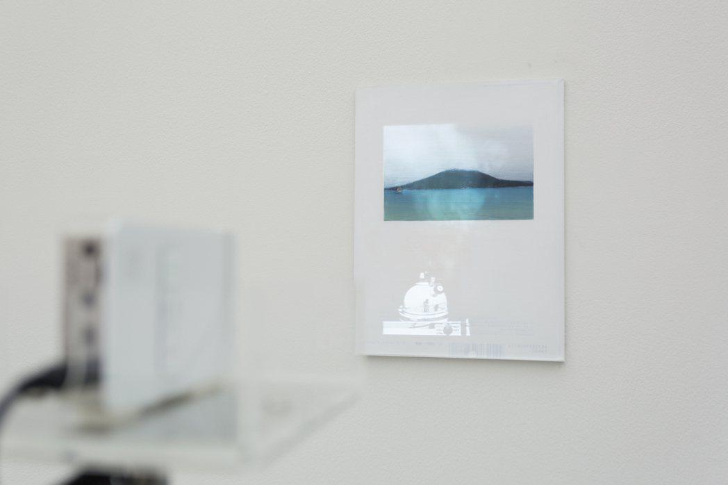 何采柔於鹿兒島駐點時,受櫻島火山啟發,創作出「濕潤的景象Moist Scener...