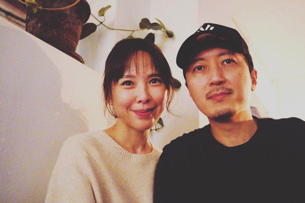 天心和韓籍老公。 圖/擷自天心Instagram
