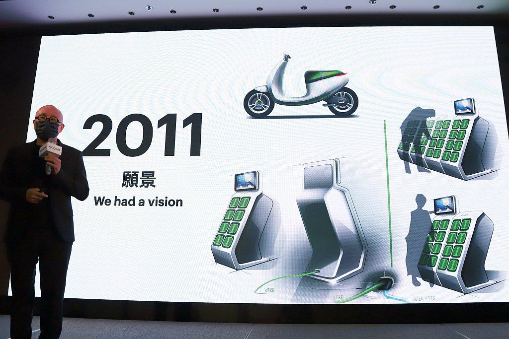 Gogoro成立於2011年,在電池交換、智慧電池、雲端服務、輕型電動車輛動力總...