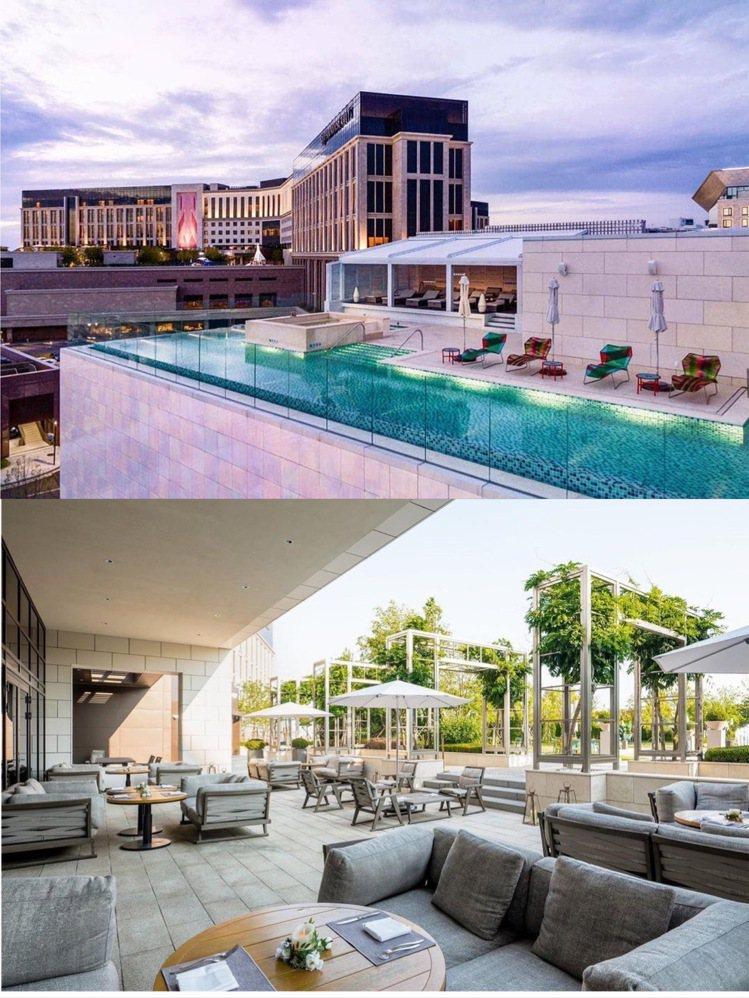 Paradise Hotel & Resort有多座泳池設施,部分客房有...